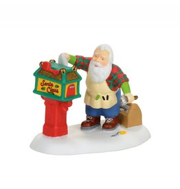 Department 56 Off Season Santa for North Pole Village