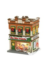 Department 56 The Bike Pedaler for Snow Village