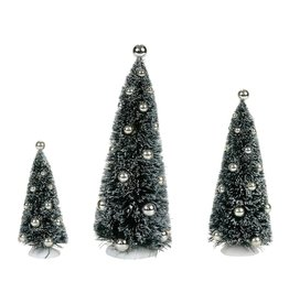 Department 56 Silver Vintage Sisals Set of 3 for Department 56 Village