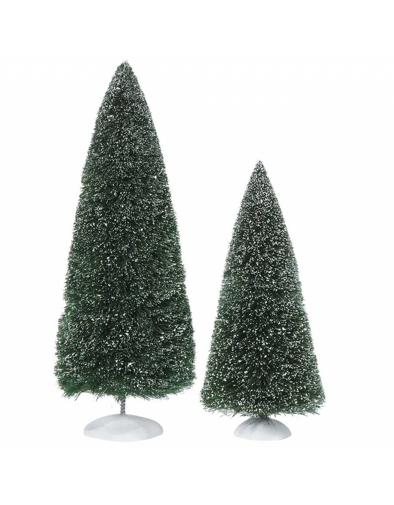 Department 56 Bag-o-Frosted Topiaries Set of 2 by Department 56