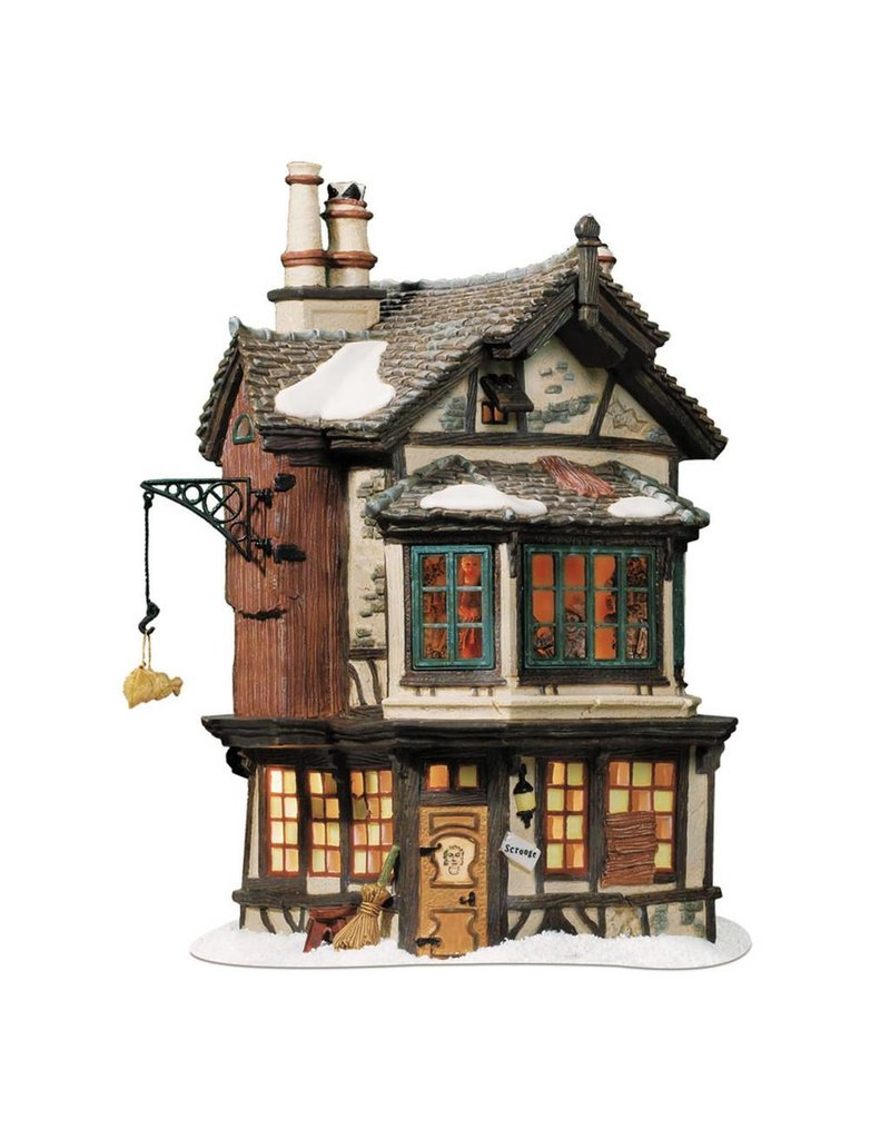 Department 56 Ebenezer Scrooge's House for Dickens A Christmas Carol Village