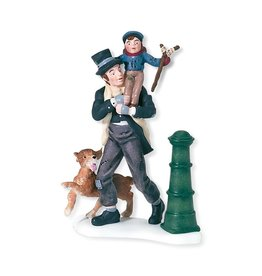 Department 56 Department 56 Dickens Village Bob Cratchit & Tiny Tim