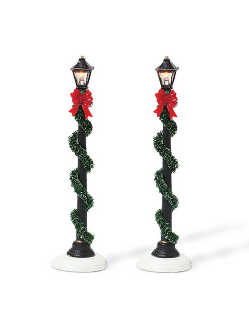 Department 56 Small Town Street Lamps Set of 2 for Department 56 Village