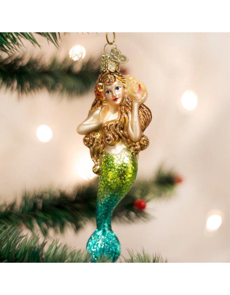 Old World Christmas Mermaid
