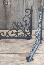 Decorative Scroll Bracket - Black