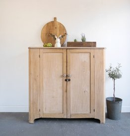 Pickled Pine Cupboard with Shelves