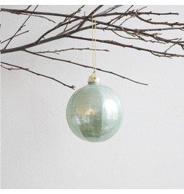 New Mint Green Glass Ornament - Sphere