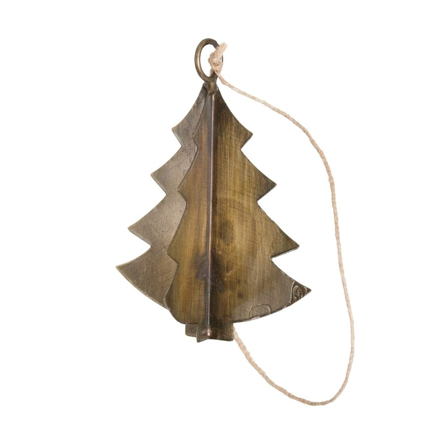 New Antiqued Barss Tree Ornament