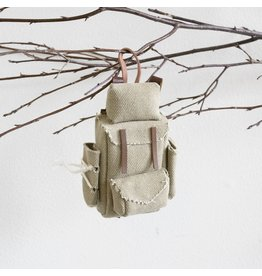 New Lil' Canvas Backpack Ornament
