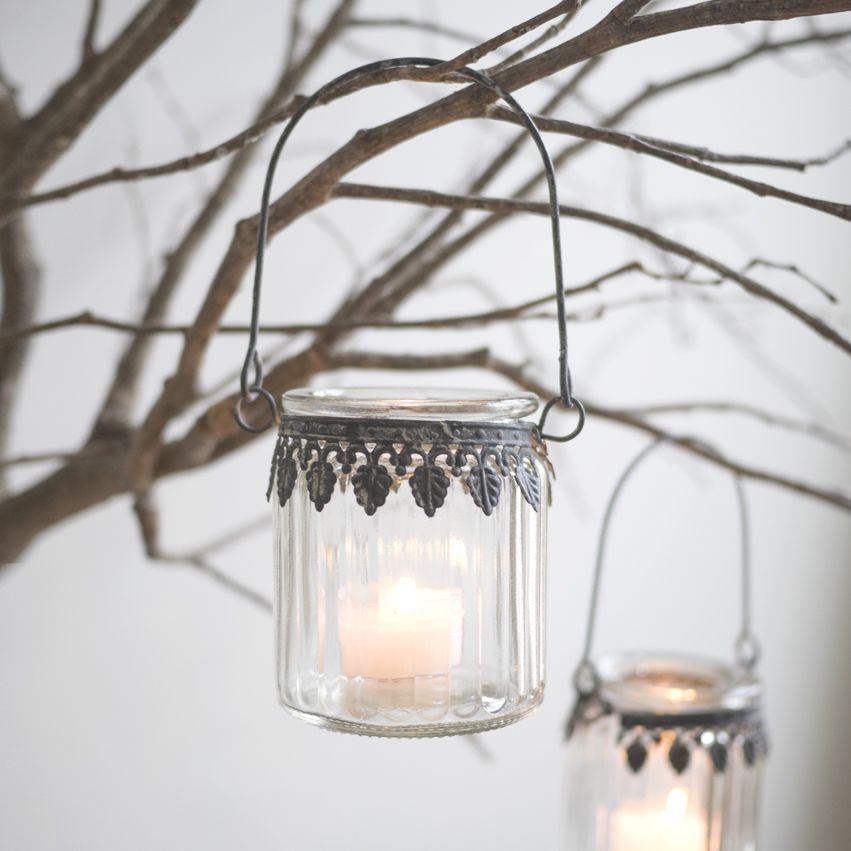 New Hanging Tealight Jar