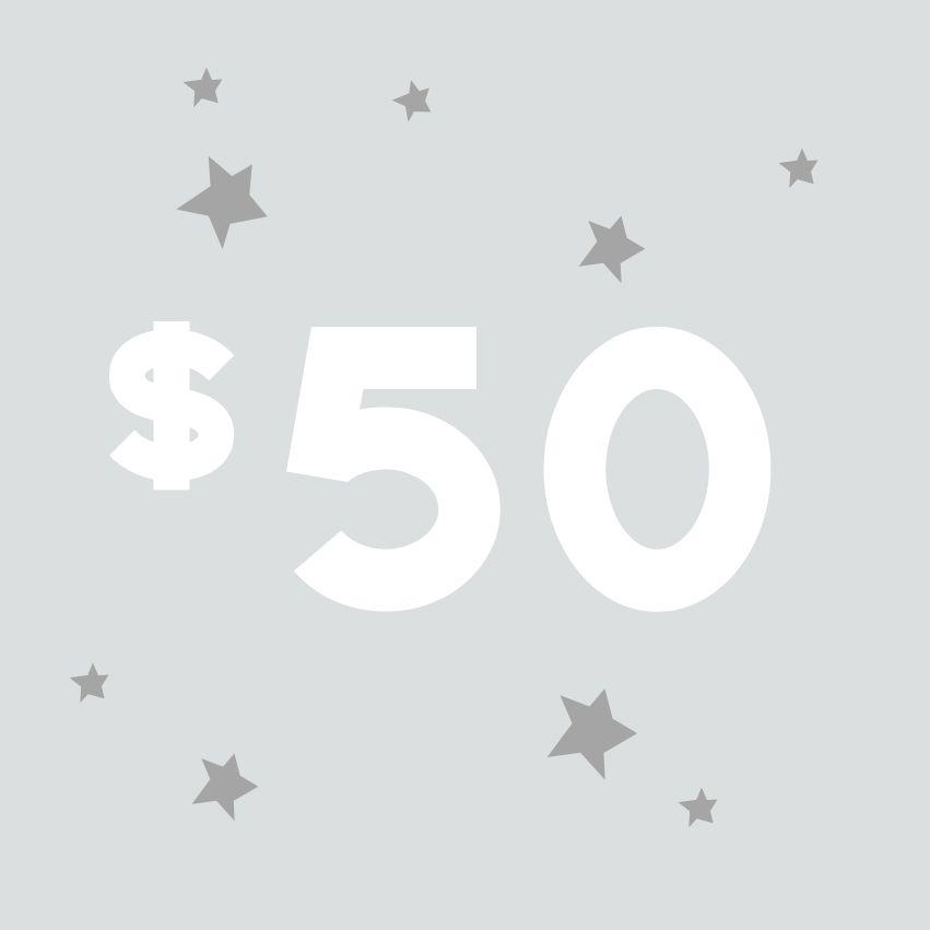 Tin Barn Market Gift Card - $50