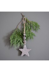 New Hanging wooden Star