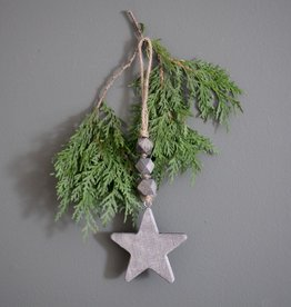 Hanging Beaded Star