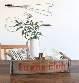 Vintage Towne Club Crate