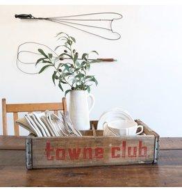 Found Vintage Towne Club Crate
