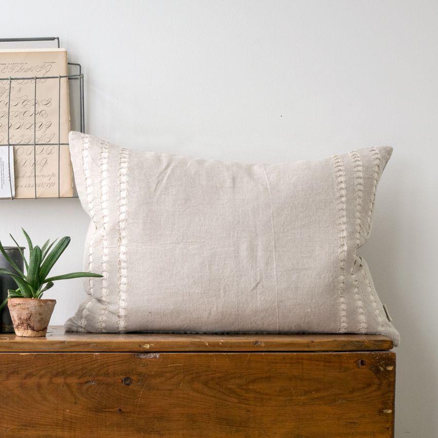 New Annabelle Linen Pillow - Rectangle