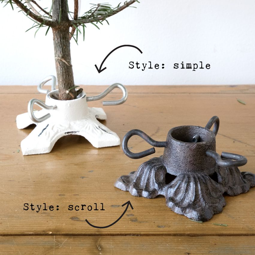 Mini Cast Iron Tree Stand