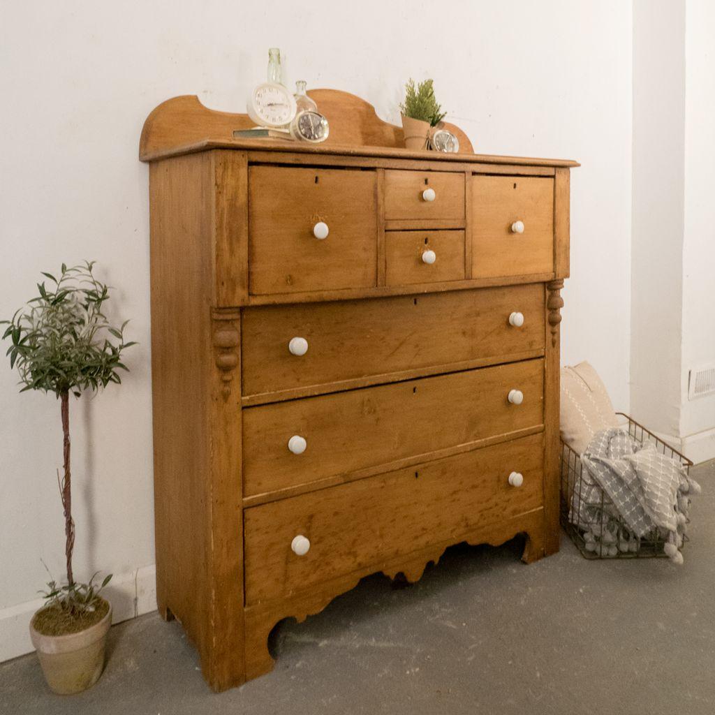 Found Antique Pine Dresser