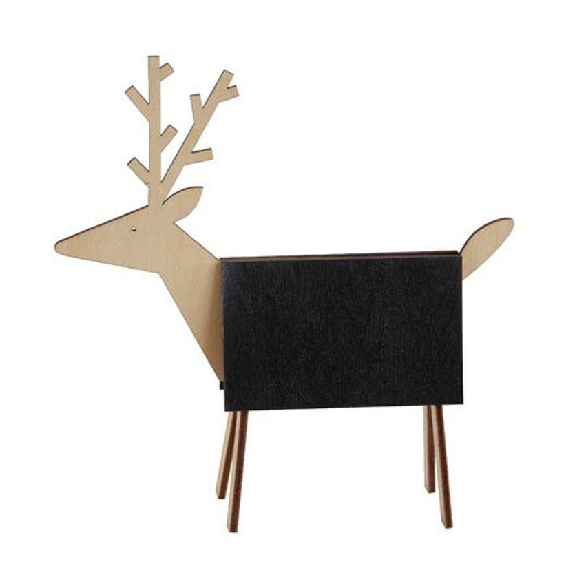 New Wooden Deer Chalkboard