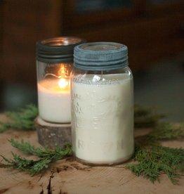Handmade Mason Jar Soy Candle - Various Scents