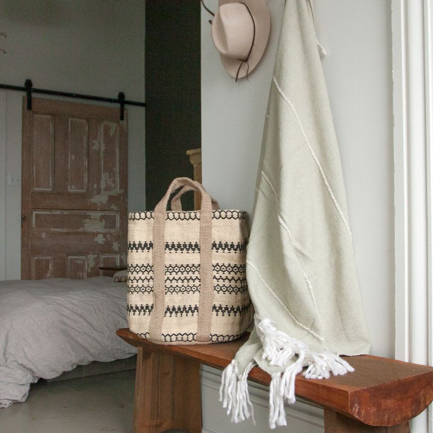 New Jute Storage Basket