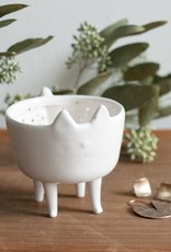 Cat Shaped Dish with Legs