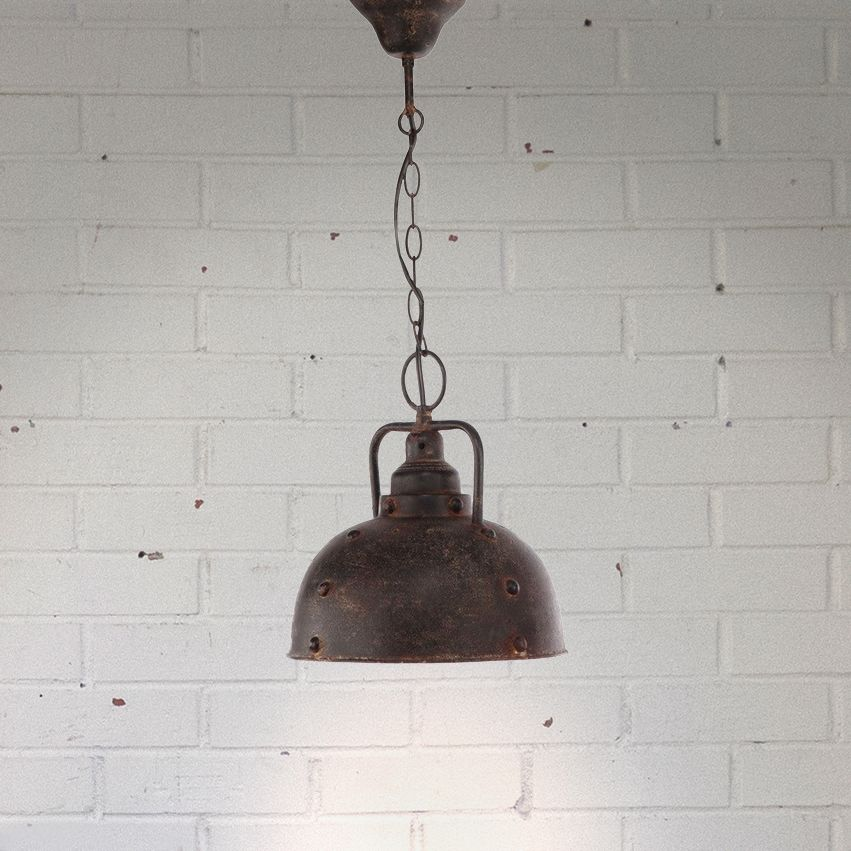 New Industiral Style Metal Light - Small
