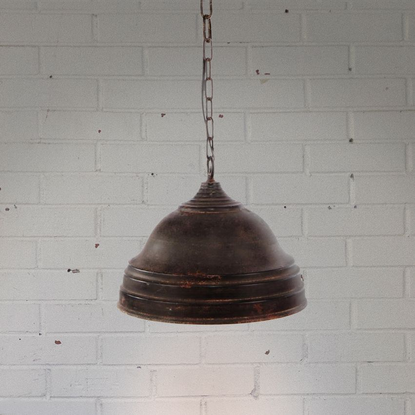 Industrial Style Metal Light - Large