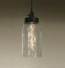 Mason Jar Pendant Light - Large