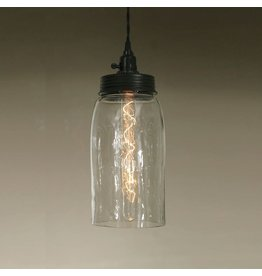 New Mason Jar Pendant Light - Large