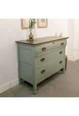 Found Antique Painted Dresser