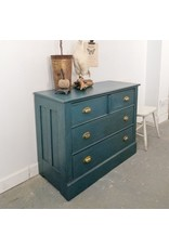 Found Anitique Painted Wood Dresser