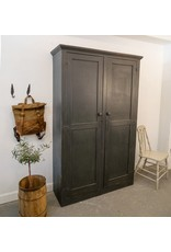 Found Antique Painted Cubby Cabinet