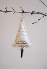 Cotton Christmas Tree Ornament