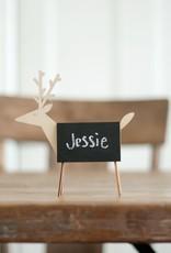 Wooden Deer Chalkboard
