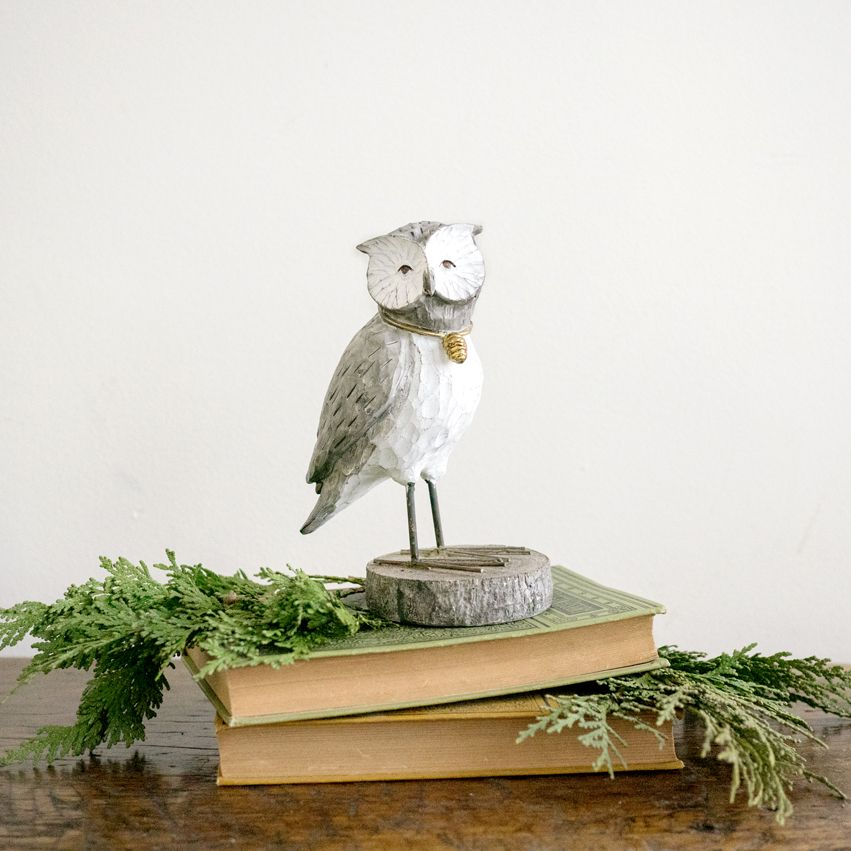 New Carved Owl