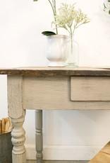 Painted Oak Table / Desk