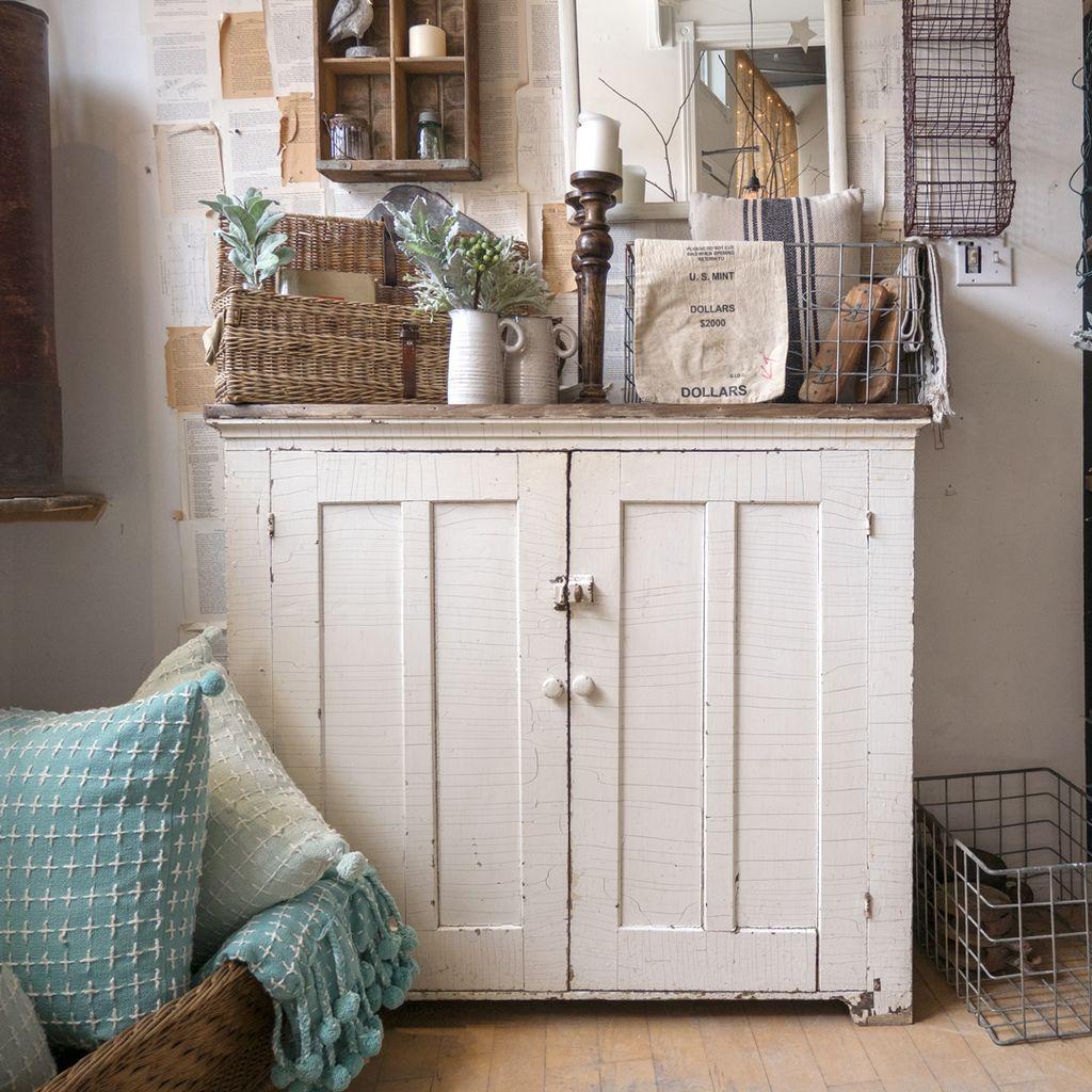 Found Antique Farmhouse Cabinet
