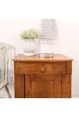 Found Antique Wooden Washstand