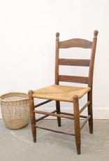 Antique Rush Seat Chair