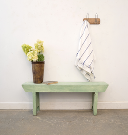 Painted Farmhouse Bench