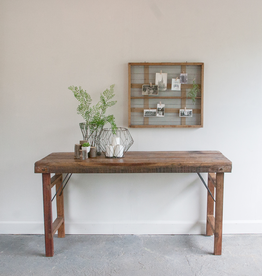 Folding Hardwood Table