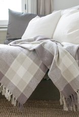 Plaid Cotton Throw