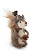 Felted Winter Squirrel