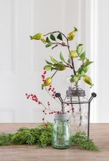 Mini Mason Jar with Flower Frog