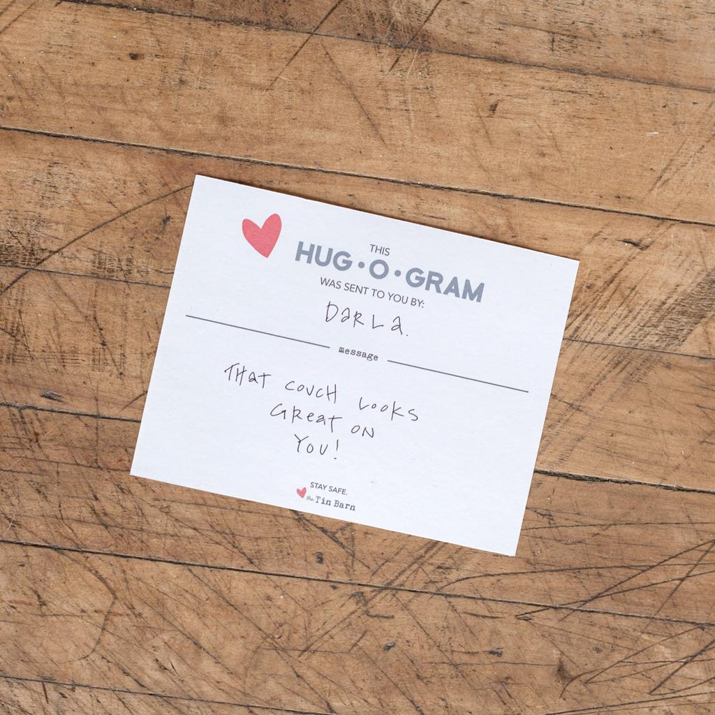 HUG-O-GRAM - Handmade Mason Jar Soy Candle