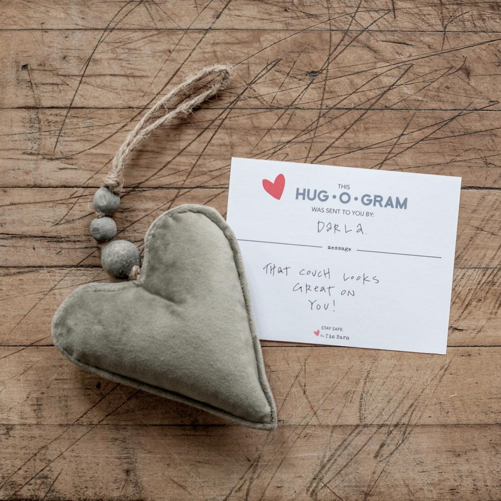 HUG-O-GRAM - Velvet Heart