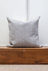 Cotton Weave Cushion - Stone