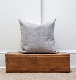 Cotton Weave Pillow - Stone