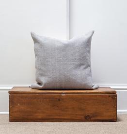 Cotton Weave Pillow - Stone